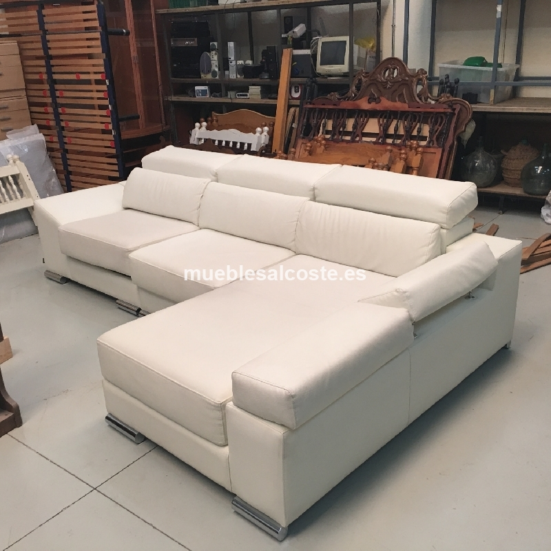 Sofa de polipiel gran calidad cod 18607 liquidacion for Sofa gran confort precios
