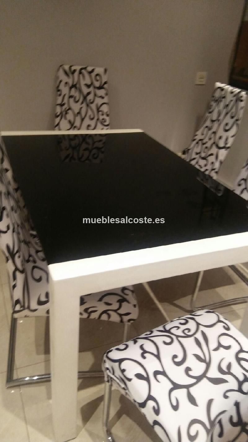 MESA COMEDOR EXTENSIBLE cod:21289, liquidacion Mueblesalcoste.es