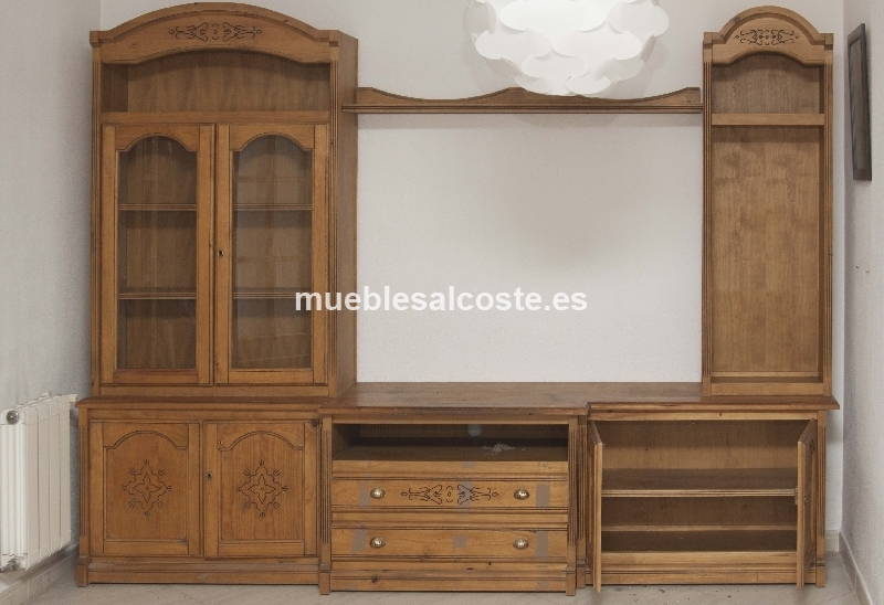 Muebles de salon rusticos cod 18604 segunda mano for Muebles de salon rusticos
