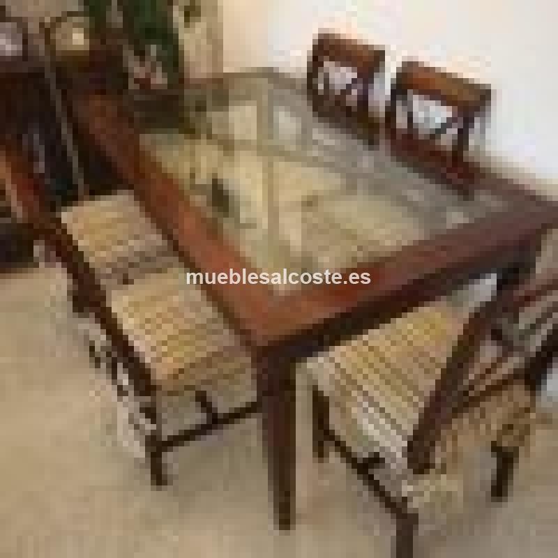 Mesa comedor y 6 sillas cod 18668 segunda mano for Mesas comedor sevilla