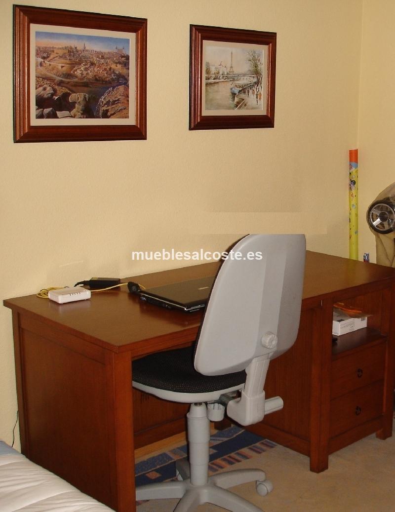 Estanteria y mesa despacho cod 18669 segunda mano - Mesas despacho segunda mano ...