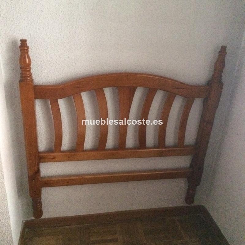 Cabecero de madera cod 18773 segunda mano for Cabeceros segunda mano