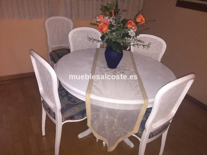 Mesa y sillas comedor vintage cod:18793 segunda mano, Mueblesalcoste.es