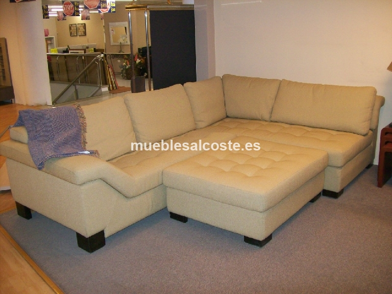 Sofa rinconera estilo moderno acabado tela cod 13065 for Sofas alicante liquidacion
