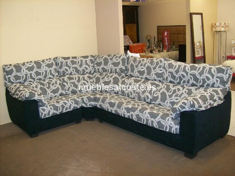 Sofa rinconera estilo moderno acabado tela cod 13071 for Sofas alicante liquidacion