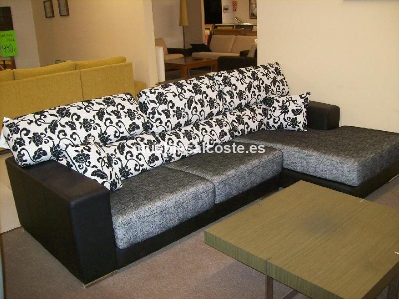 Sofa c chaisselonge cod 13074 liquidacion for Sofas alicante liquidacion