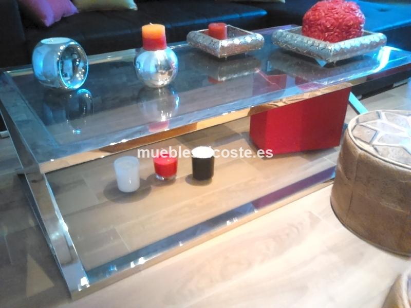 Mesa cafe estilo igual foto acabado igual foto cod 18862 for Mesa inoxidable segunda mano