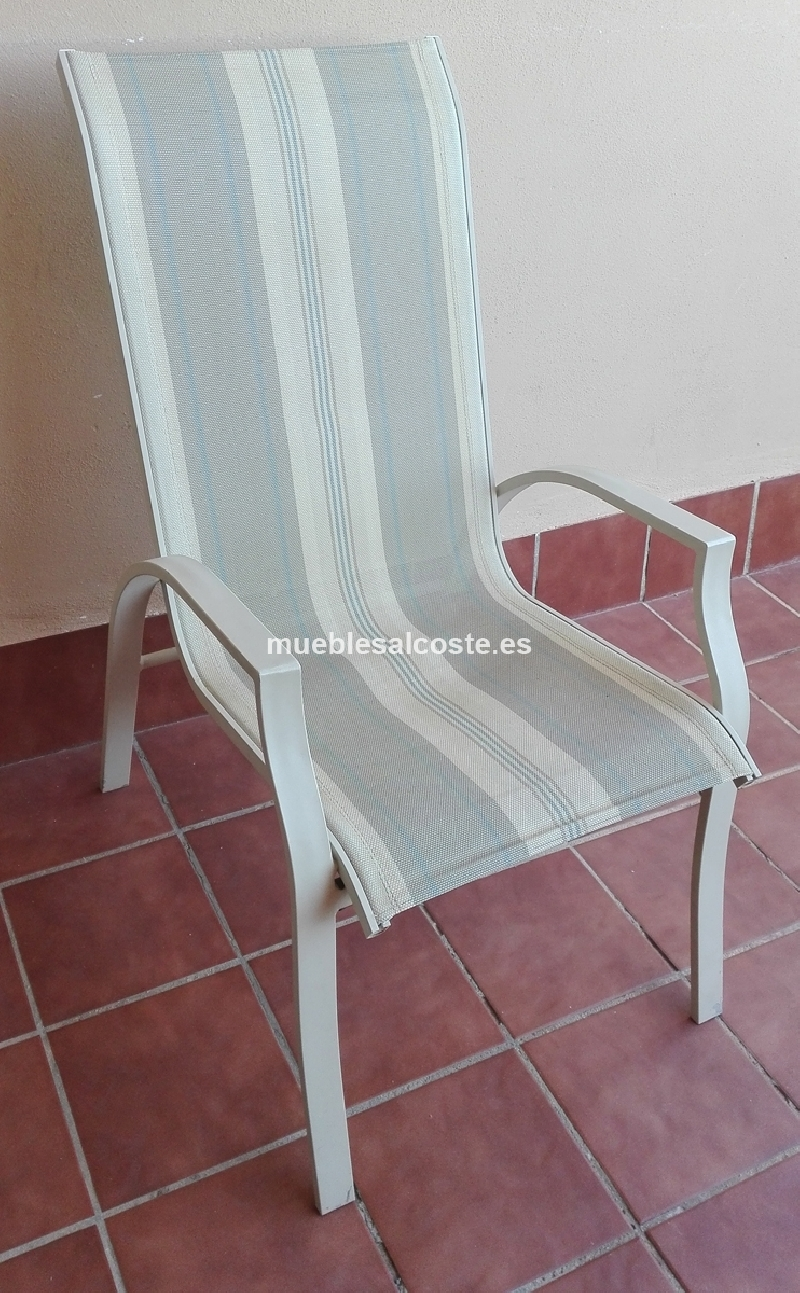 Mesa y 6 sillas de exterior cod 18893 segunda mano for Mesas y sillas para exterior