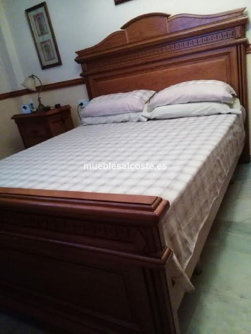 Dormitorio matrimonio completo cod 19077 segunda mano for Dormitorio completo