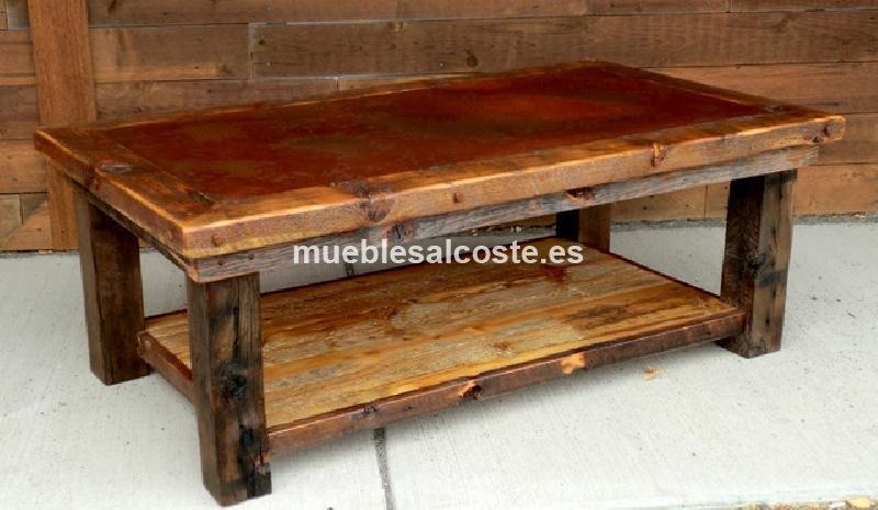 Mesas rusticas a medida cod 19110 segunda mano - Mesas mosaico segunda mano ...