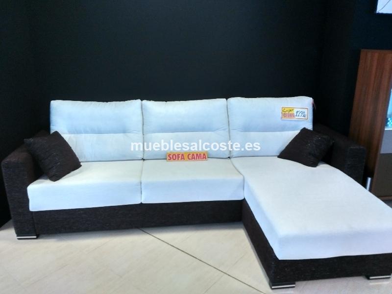 Sofá cama apertura italiana con arcón