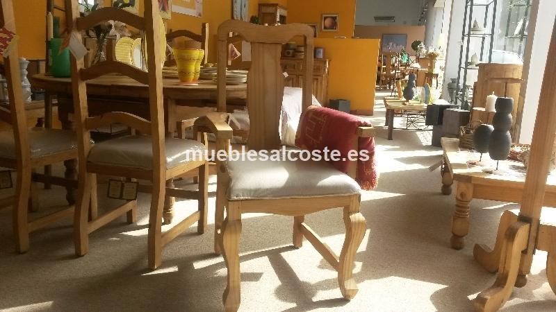 Sillon madera rustico