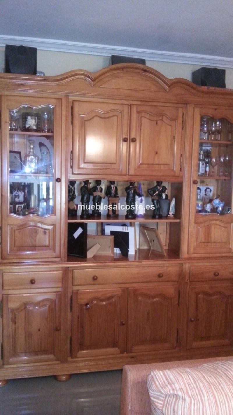 Mueble Salon Provenzal 2mts Cod 19209 Segunda Mano