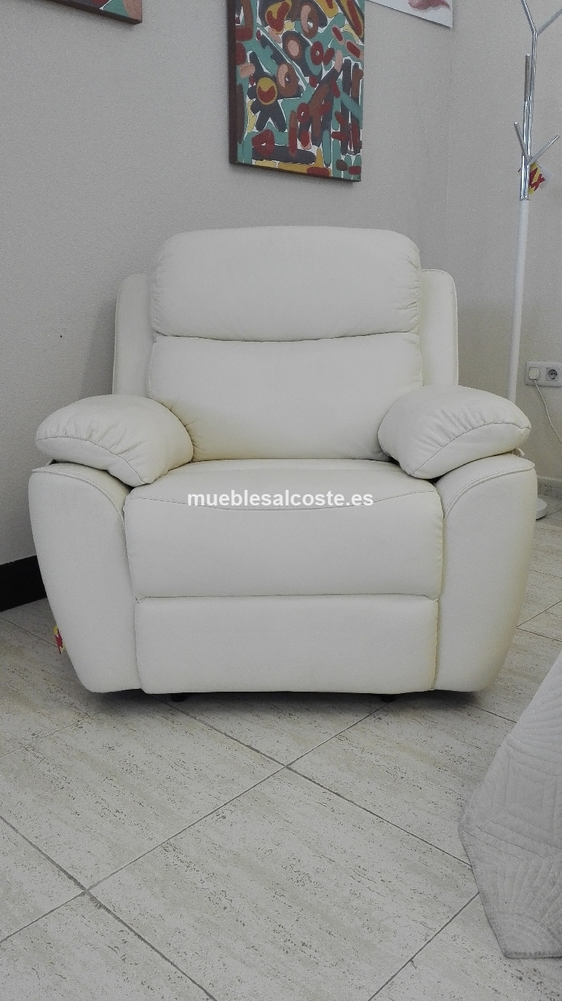 sofas huelva liquidacion sillon relax piel cod 27812 liquidacion