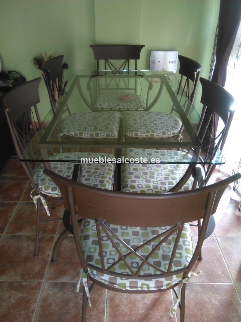 Mesa y sillas de forja cod 19349 segunda mano - Mesas y sillas de segunda mano ...