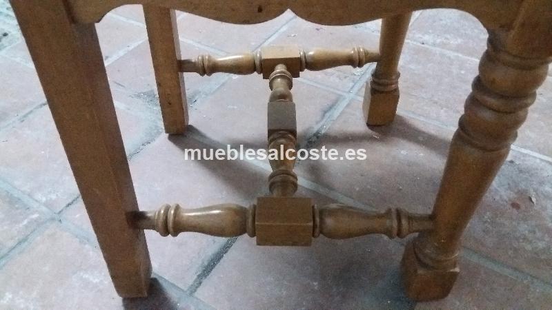 8 sillas de madera cod 19427 segunda mano for Sillas madera segunda mano