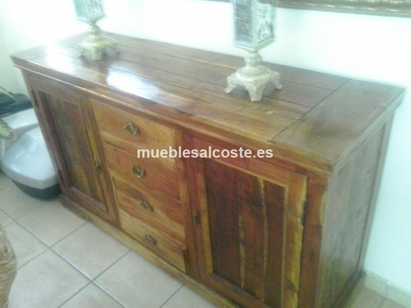 Preciosos muebles de comedor estilo rustico valencia for Muebles comedor rusticos