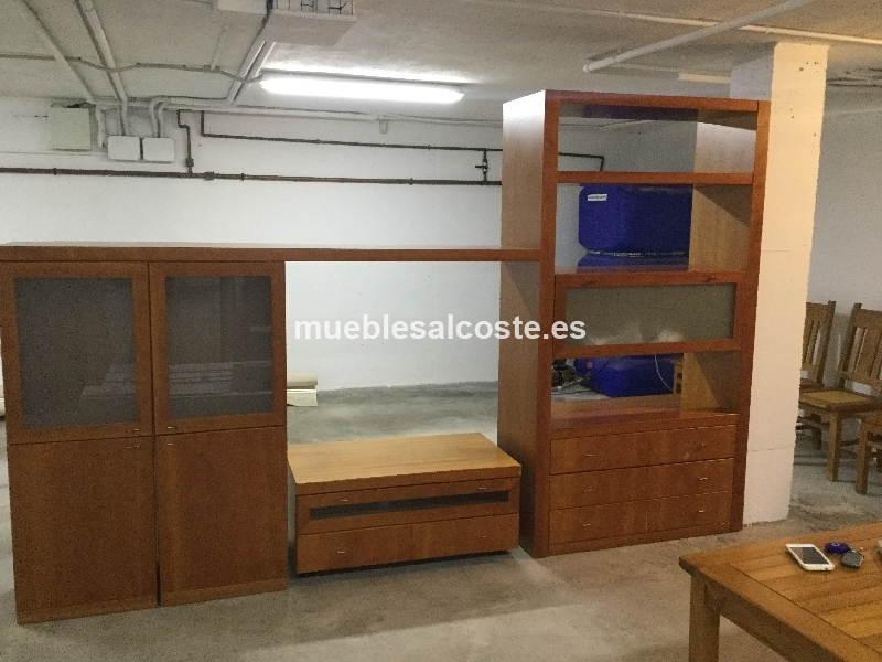 Mueble completo para salon cod 19445 segunda mano for Muebles segunda mano castellon
