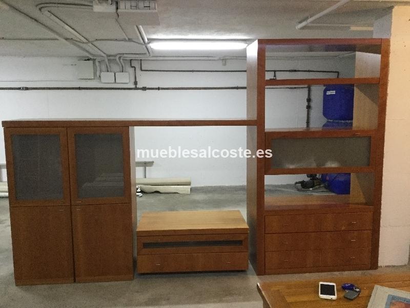 Mueble completo para salon cod 19445 segunda mano for Muebles salon completo