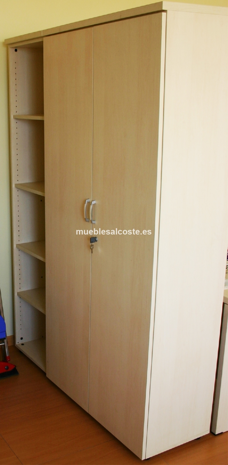 1 armario estanteria oficina 45x45cm cod 19761 segunda mano - Armario estanteria ...
