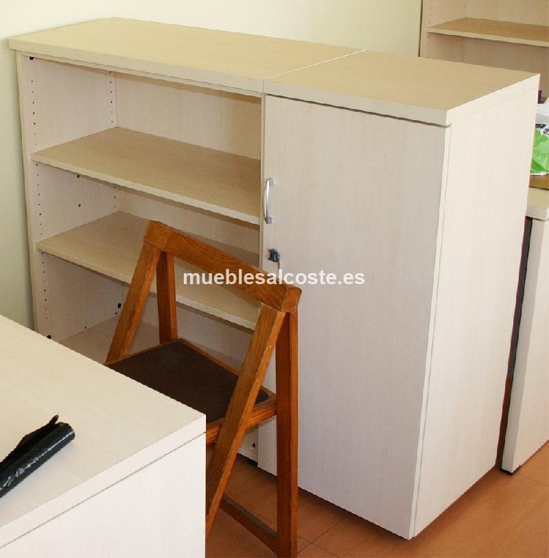 Armario estanteria oficina 100cm altura cod 19763 segunda mano - Armario estanteria ...
