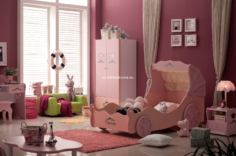 Cama cinderella princess cod 11416 liquidacion Home furniture online uae