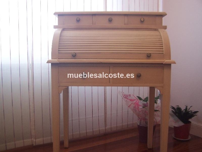 Escritorio secreter vintage cod 19651 segunda mano for Mesas vintage segunda mano