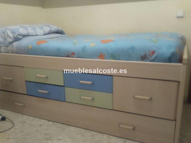 Cama Nido 2 Colchones Cod 19695 Segunda Mano