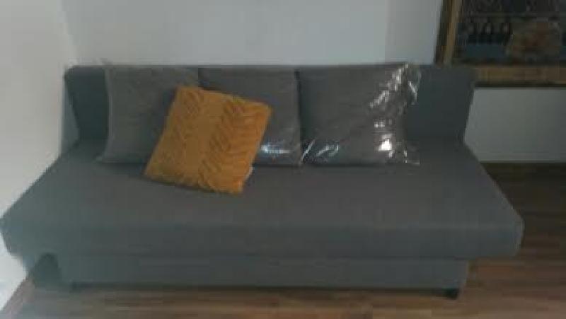 Sofa cama 3 plazas con peque os canape a estrenar cod for Sofa cama pequeno segunda mano