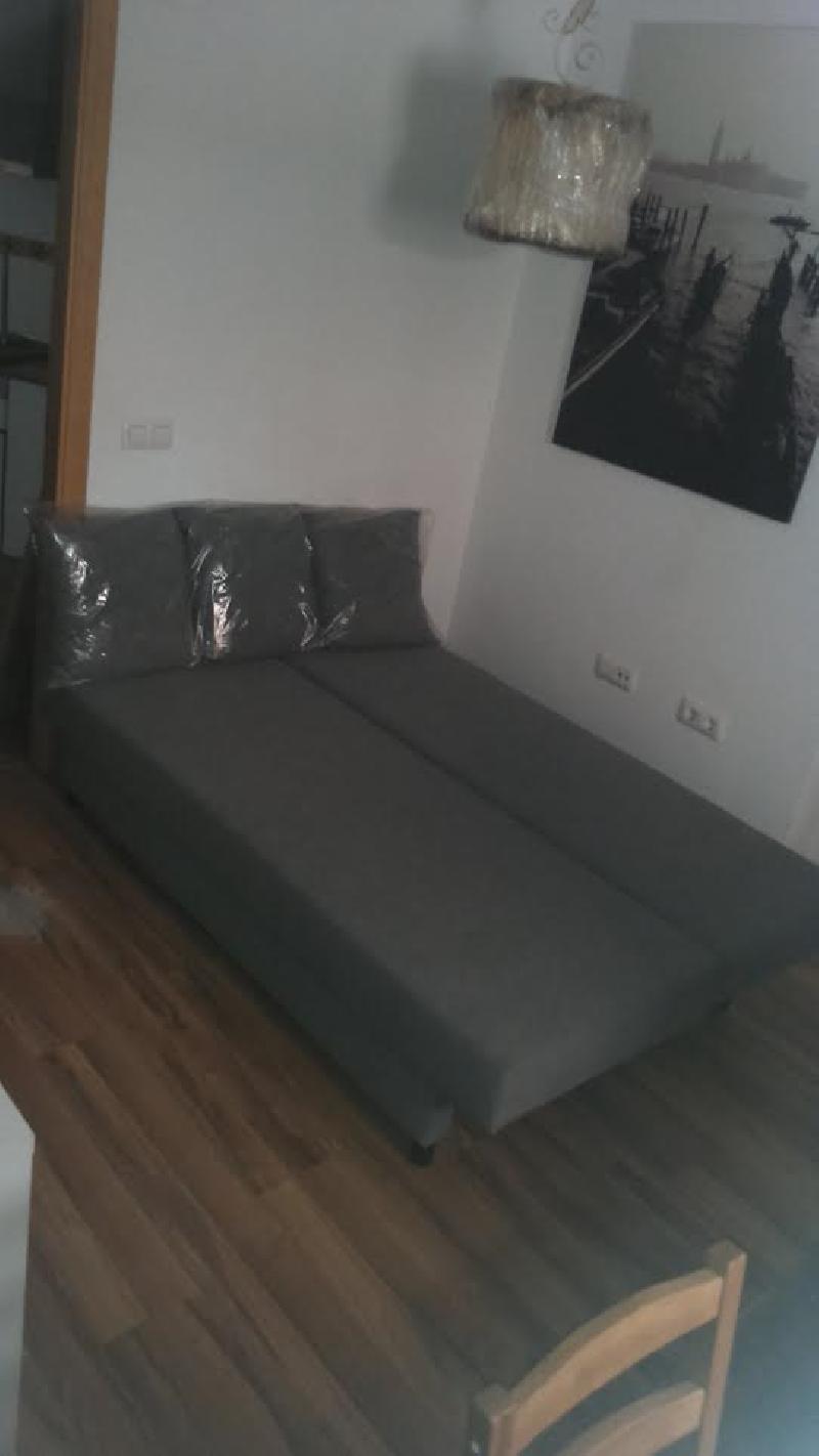 Sofa cama 3 plazas con peque os canape a estrenar cod - Sofa cama segunda mano sevilla ...