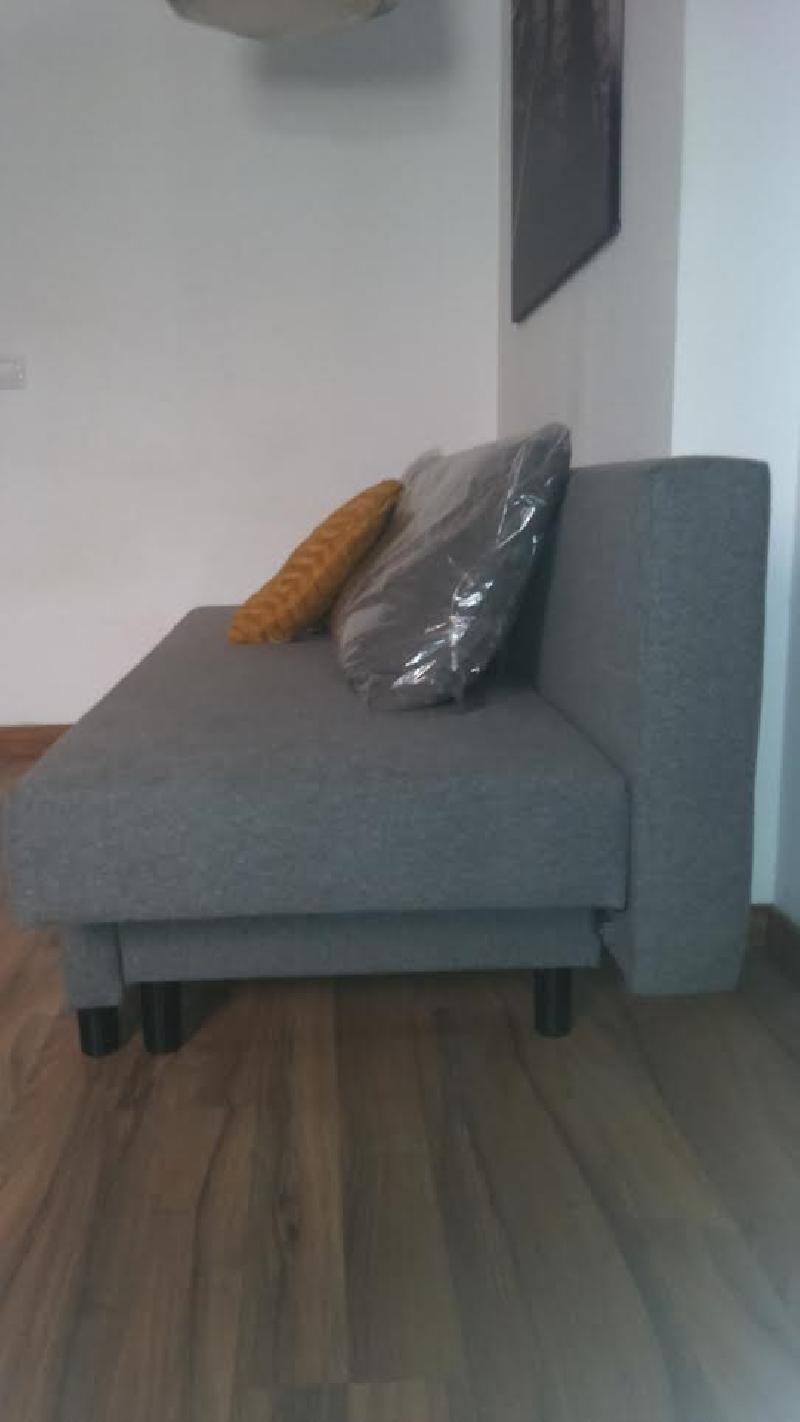 Sofa cama 3 plazas con peque os canape a estrenar cod for Sofa cama pequeno conforama