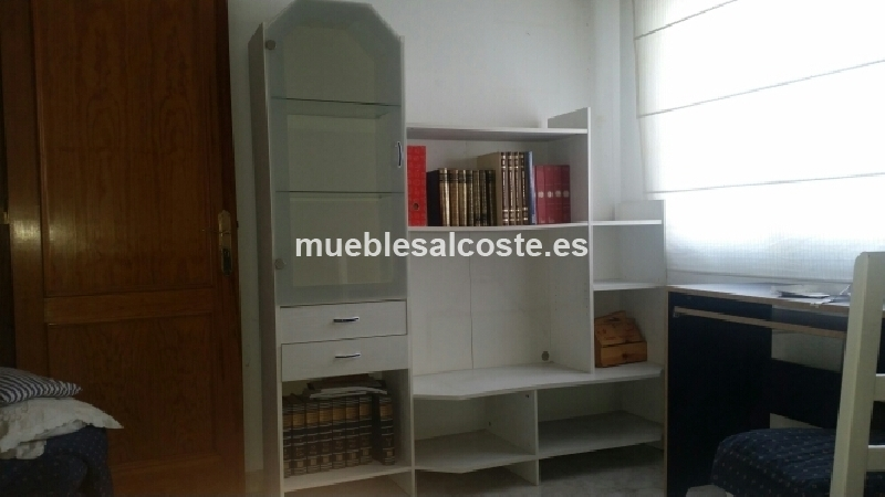 Mueble libreria o mueble comedor cod 19778 segunda mano for Mueble libreria