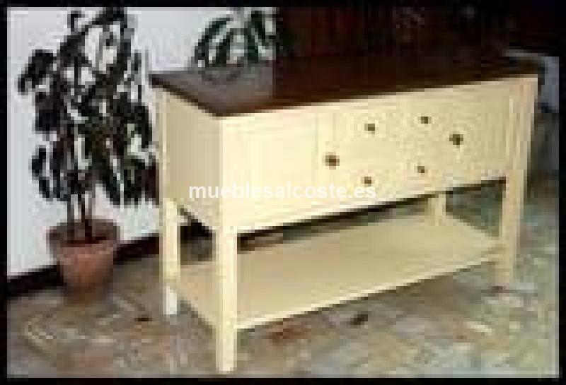 Muebles rusticos y coloniales cod 19815 segunda mano for Muebles de cocina rusticos de segunda mano