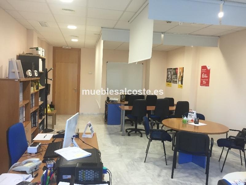 Mobiliario para una oficina completa cod 19853 segunda for Mobiliario oficina segunda mano