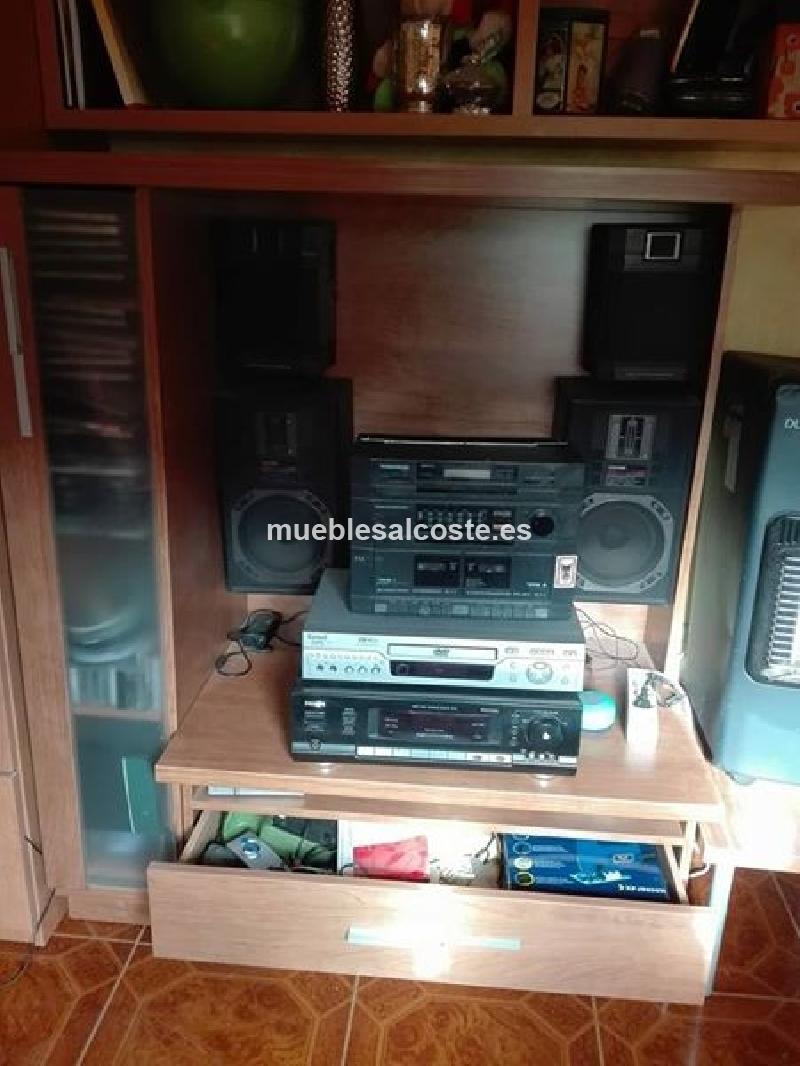 mueble television y musica cod 19880 segunda mano