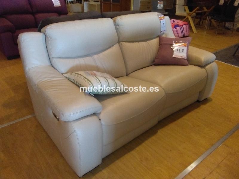 Liquidacion sofa 3 plazas relax motor cod 19915 for Liquidacion sofas