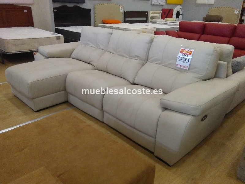 Liquidacion sofa chaiselongue relax motor cod 19920 for Liquidacion sofas