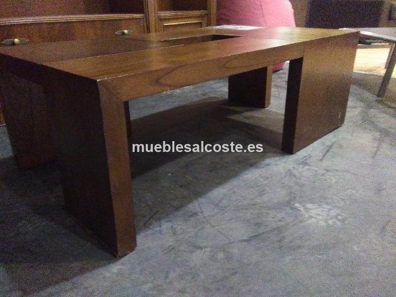 liquidacion mesa centro madera maciza - Mesas De Madera Maciza