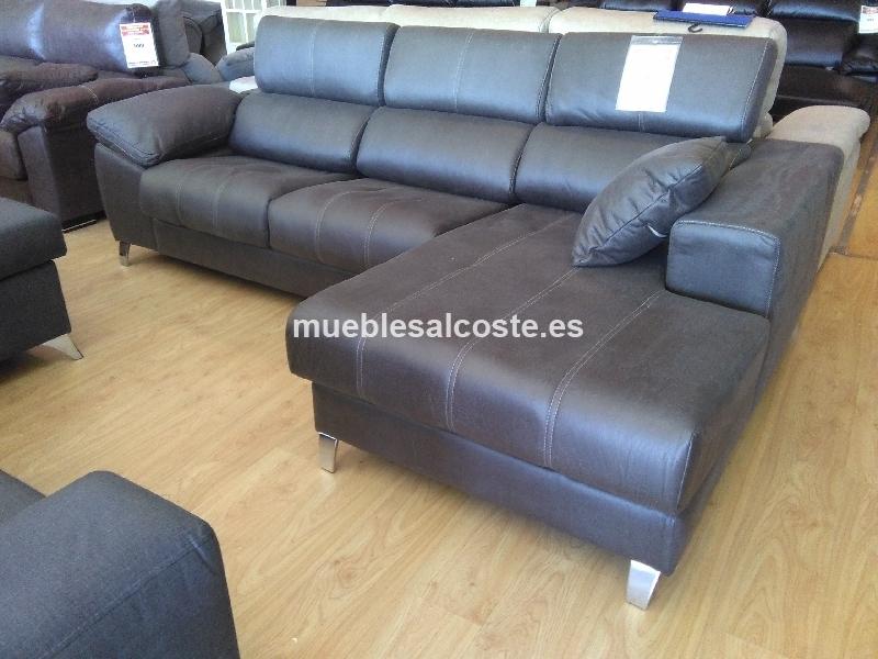 Liquidacion sofa chaiselongue cod 20079 liquidacion - Muebles vizcaya liquidacion ...