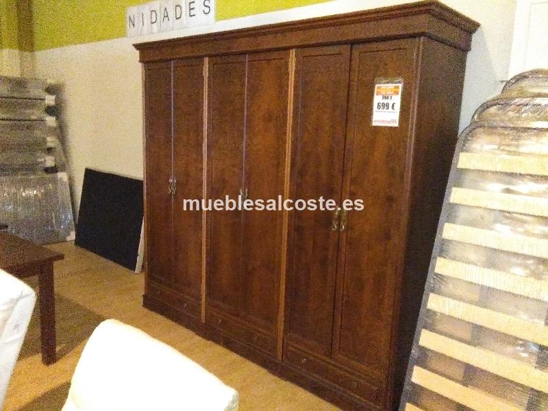 Liquidacion armario madera maciza cod 20095 liquidacion - Muebles vizcaya liquidacion ...