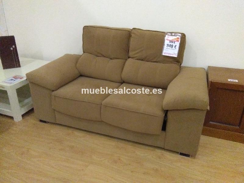 Liquidacion sofa 2p tela rustika cod 20112 liquidacion for Sofas tela rustika