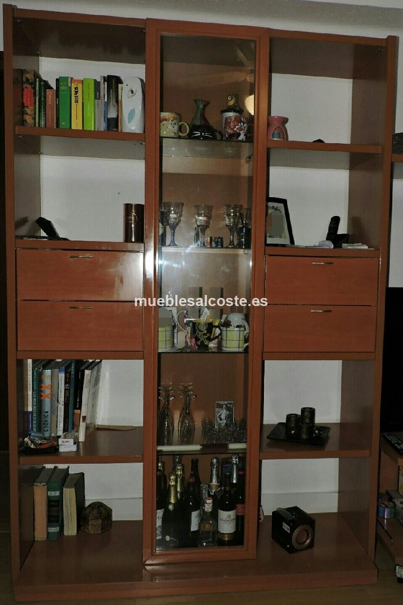 Mueble comedor estilo madera acabado igual foto cod for Muebles comedor segunda mano valencia