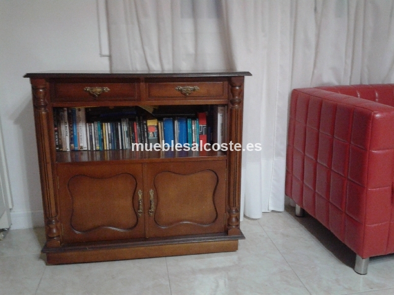 Mueble auxiliar madera cod 20259 segunda mano for Muebles auxiliares segunda mano