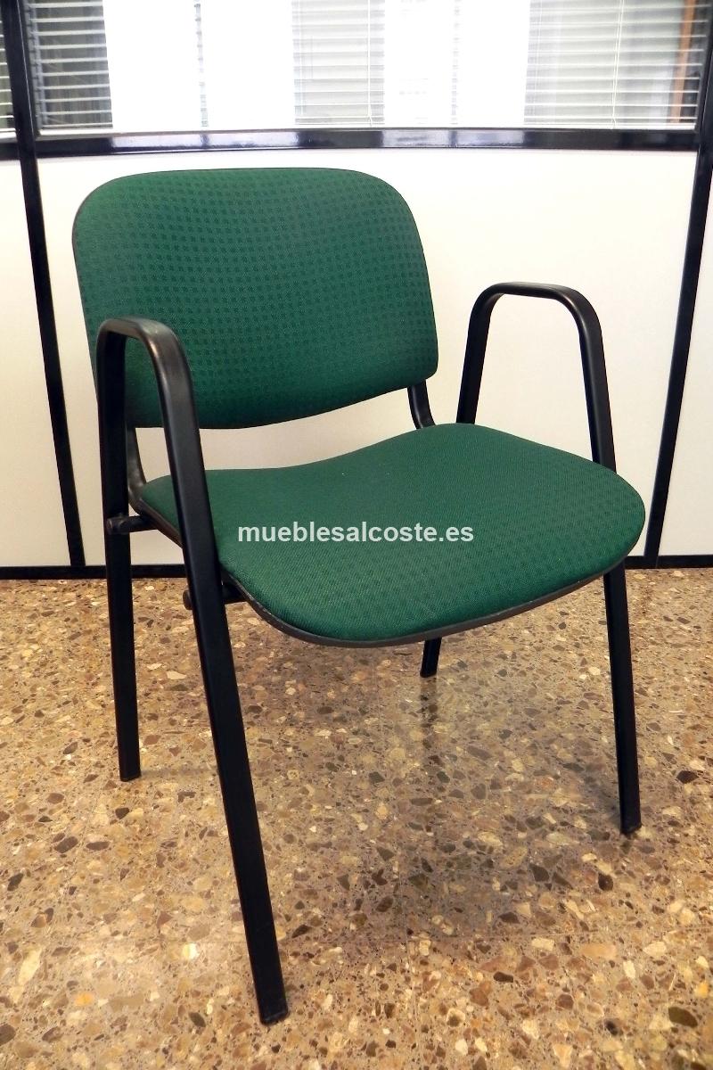 6 sillas oficina cod:20299 segunda mano, Mueblesalcoste.es