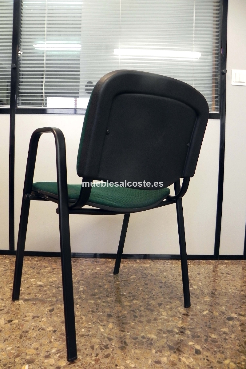 6 sillas oficina cod 20299 segunda mano - Sillas oficina segunda mano ...