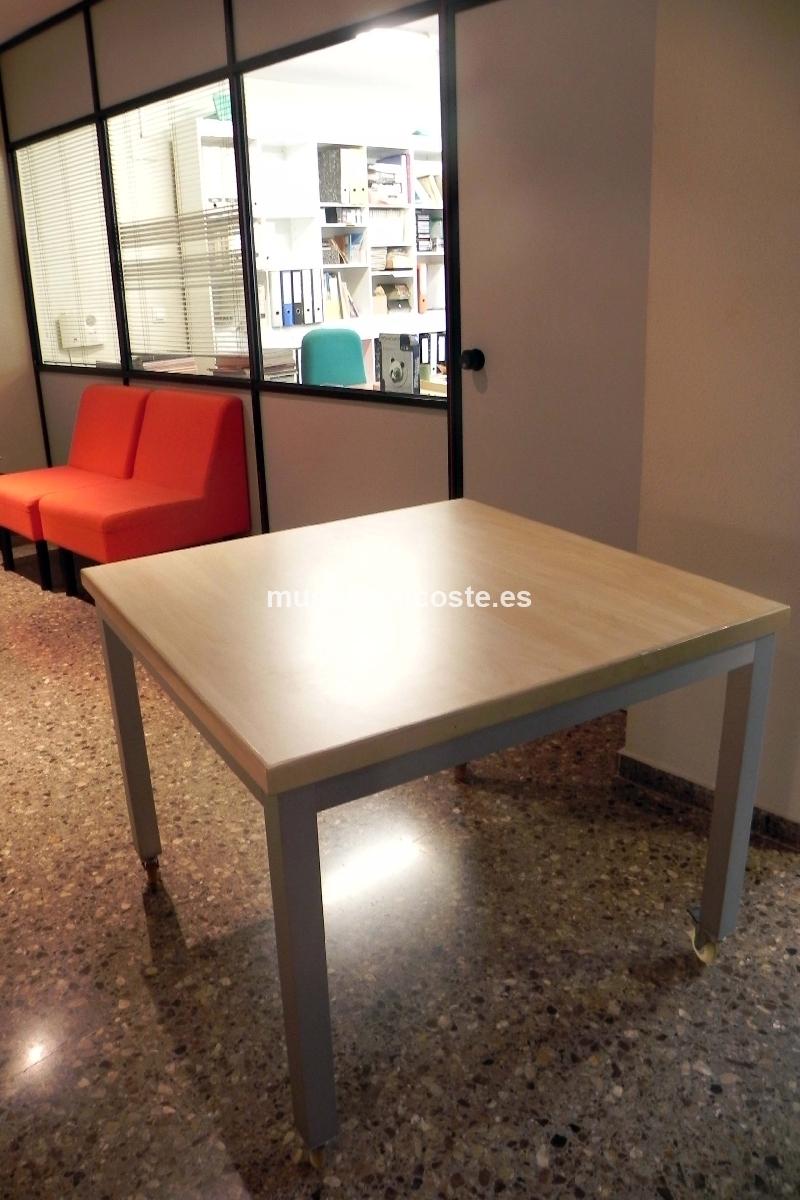 2 mesas de oficina cod 20300 segunda mano - Mesas de oficina ...
