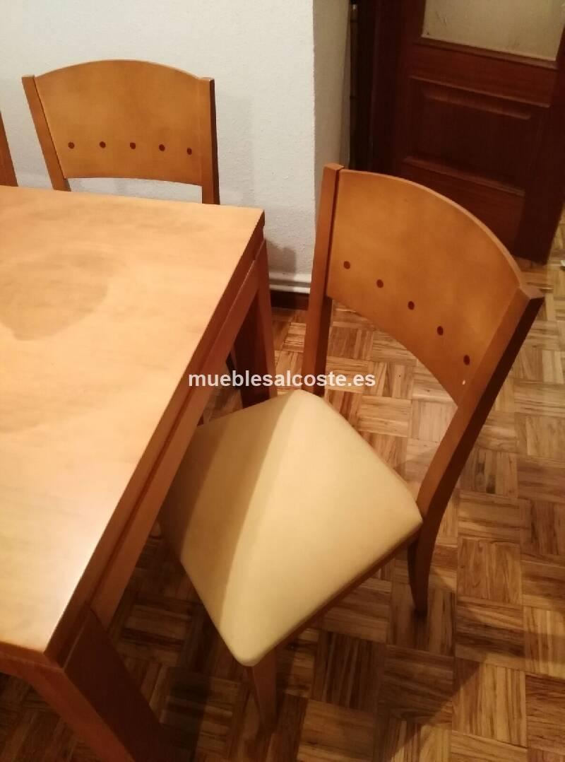 Mesa comedor sillas cod 20450 segunda mano for Mesa y sillas comedor segunda mano