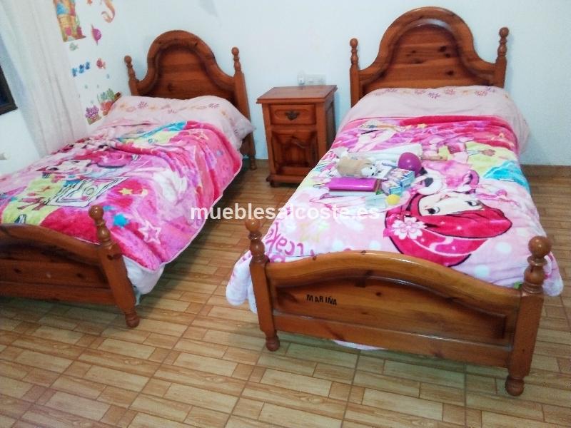 Camas gemelas estilo igual foto acabado igual foto cod for Camas gemelas juveniles