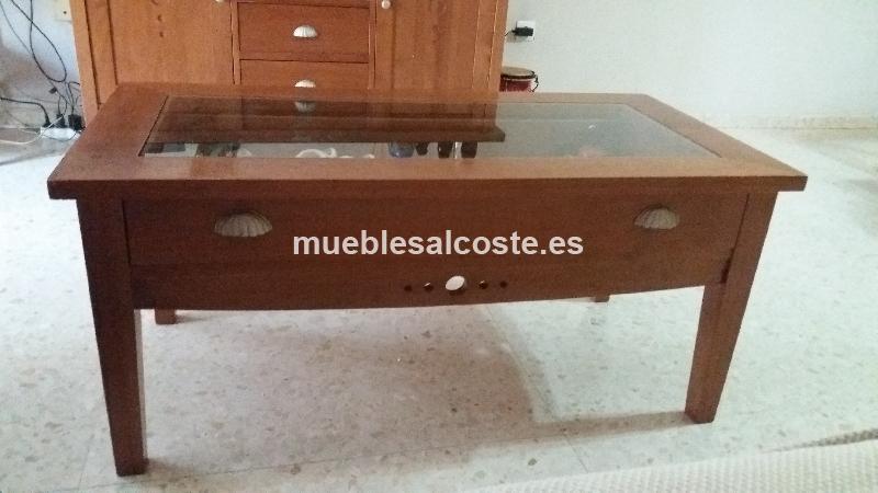 Aparador mesa tv y mesa de centro cod 20481 segunda mano for Mesa tv segunda mano