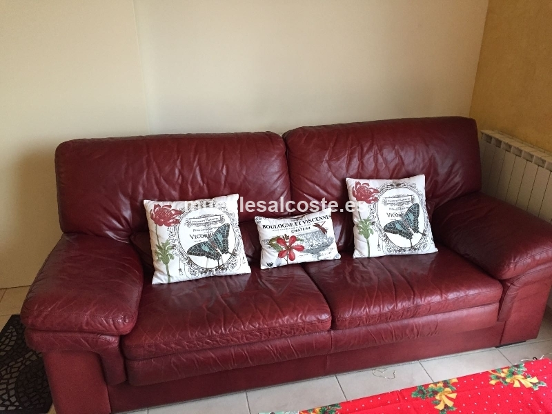 Sofa en piel cod 20504 segunda mano - Sofas de segunda mano en tarragona ...